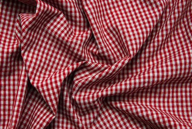 Texture de tissu à carreaux
