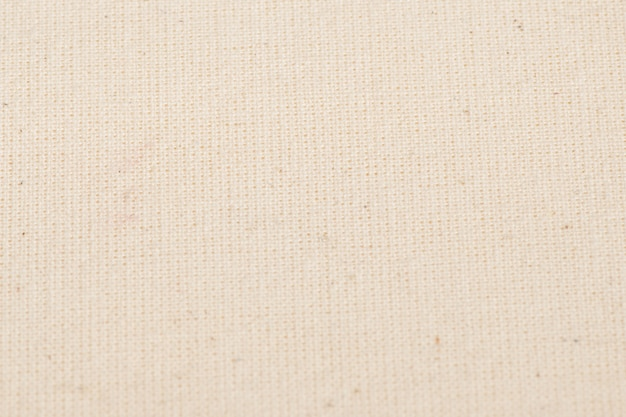 Texture de tissu de coton blanc comme toile de fond