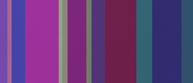 Texture de tissu en coton imprimée de rayures colorées. arrière-plan.