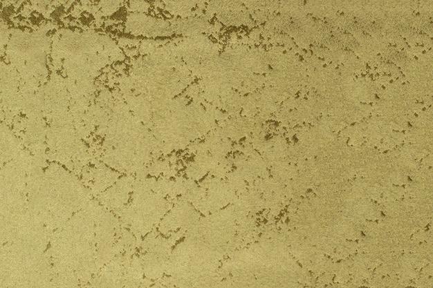 Texture de tissu en daim jaune