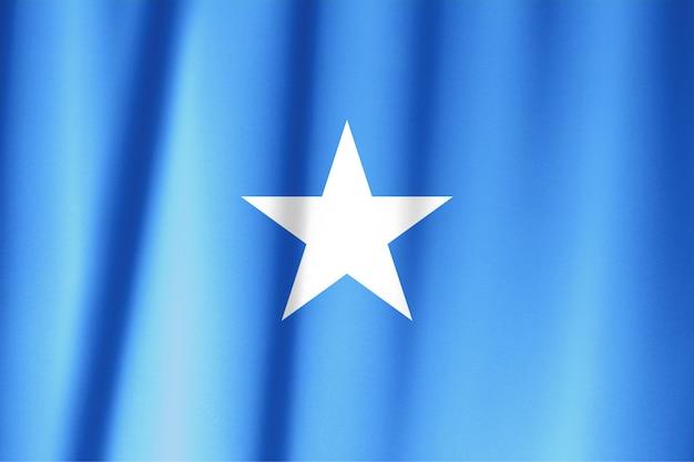 Texture de tissu du drapeau de la somalie