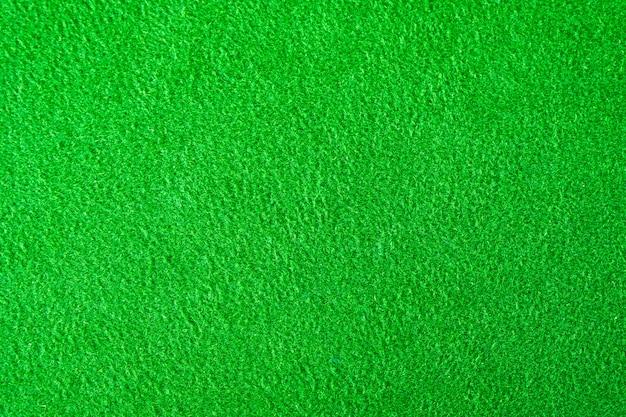 Texture de tissu de feutre vert pour le fond