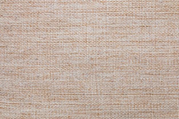 Texture de tissu. fond de toile de lin