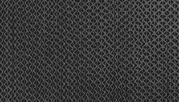Texture de tissu gris foncé pour le fond