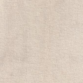Texture de tissu de laine, fond noué.