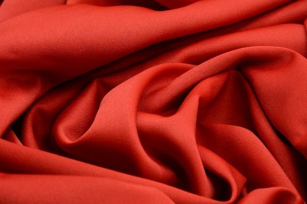 Texture de tissu de luxe rouge
