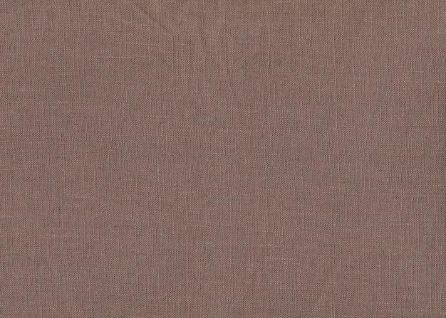Texture de tissu marron pour le fond