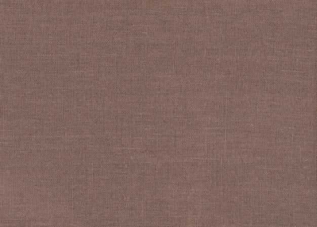 Texture de tissu marron
