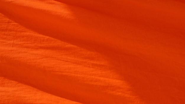 Texture de tissu orange - fond