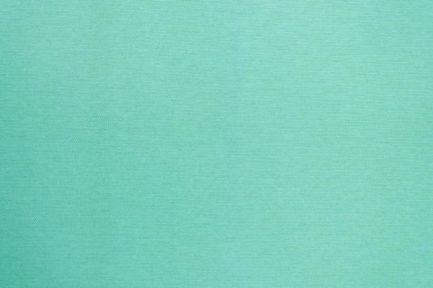 Texture de tissu propre en couleur menthe.