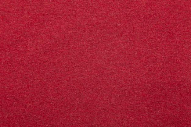 Texture de tissu rouge, fond de tissu.