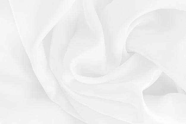 Texture de tissu en tissu blanc