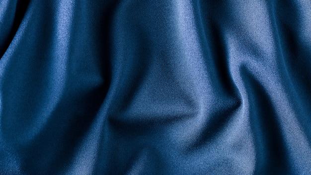 Texture de tissu tissu bleu