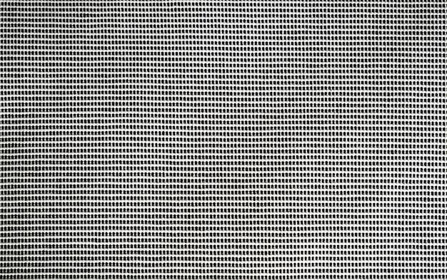 Texture de tissu tricoté noir et blanc