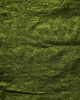Texture de tissu vert