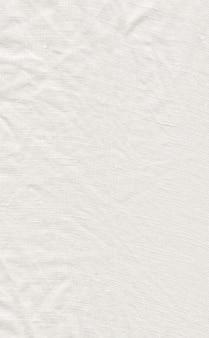 Texture de toile blanche