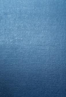 Texture de toile fond bleu