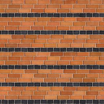 Texture transparente carrée de brique orange bond