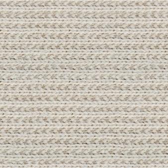 Texture transparente du pull tricoté