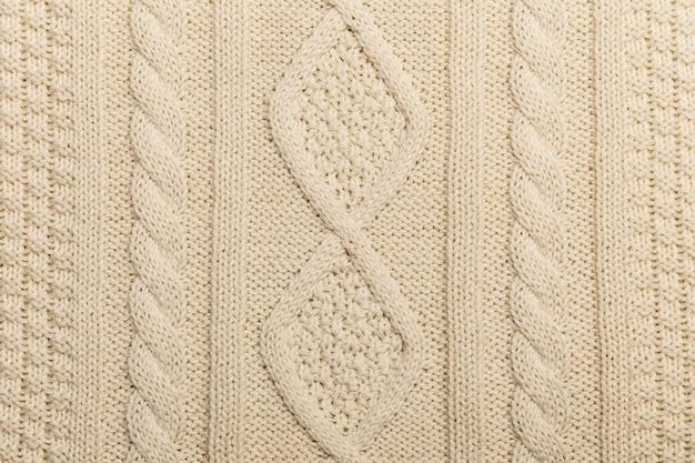 Texture de tricot