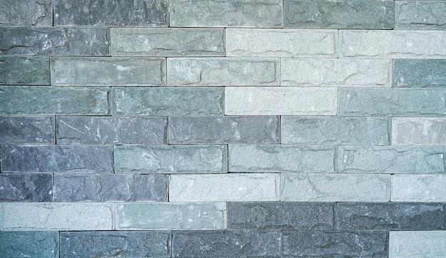 Texture de tuile de mur de brique en pierre roches décoratives extérieures d'ardoise moderne