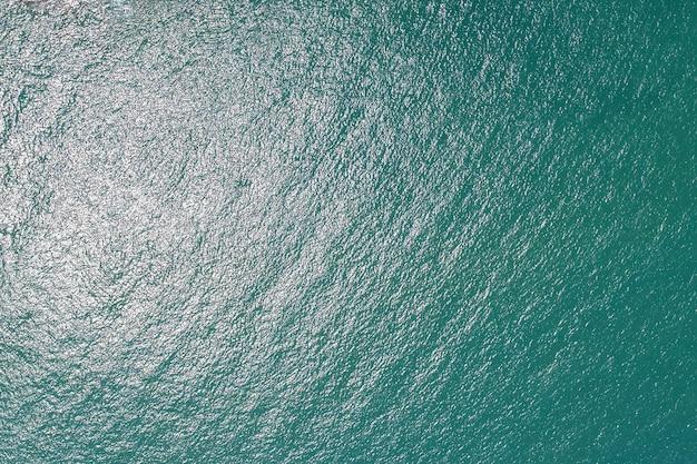 Texture de vague de vue aérienne plage