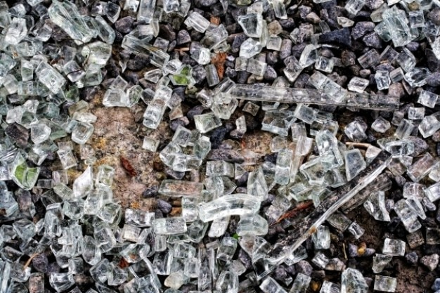Texture de verre brisé