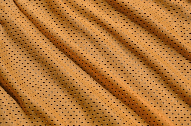 Texture de vêtements de sport en fibre de polyester