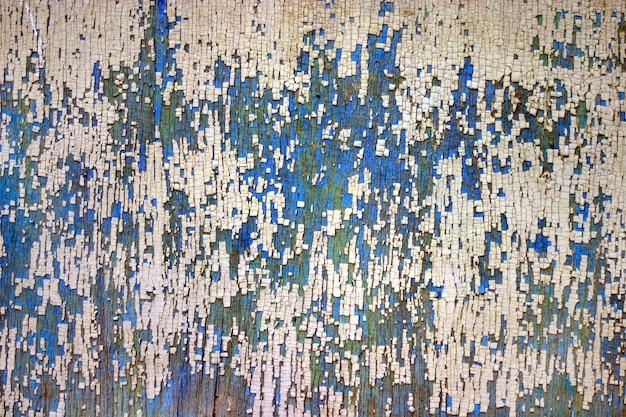 Texture de la vieille peinture fissurée.