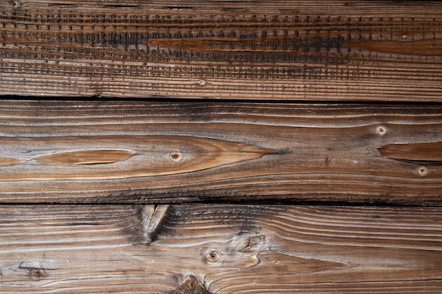 Texture de vieilles planches en bois de l'âge brun fond