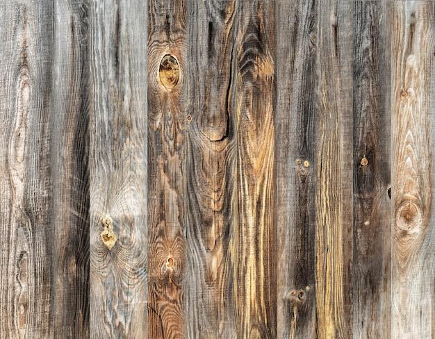 Texture des vieilles planches en bois.