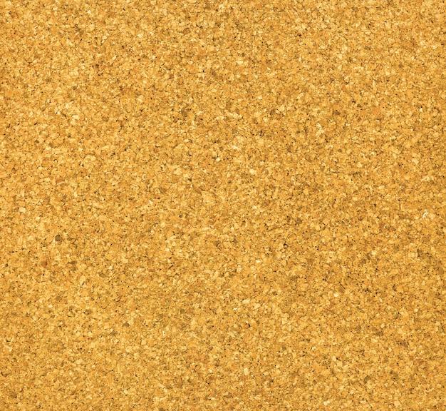 Texture vierge de panneau de liège brun