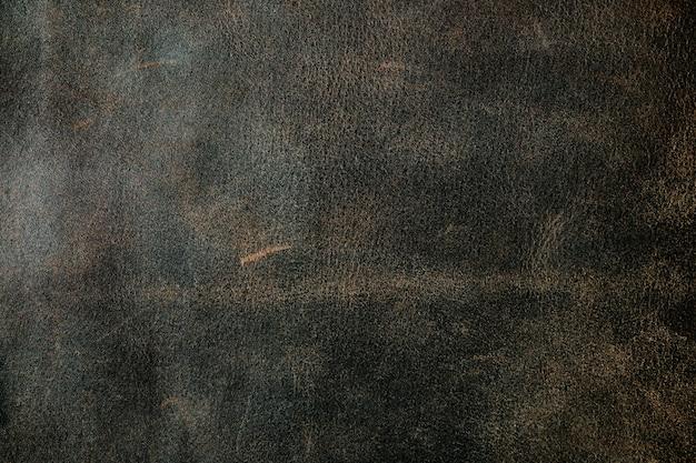 Texture de vieux cuir véritable, égratignures et égratignures
