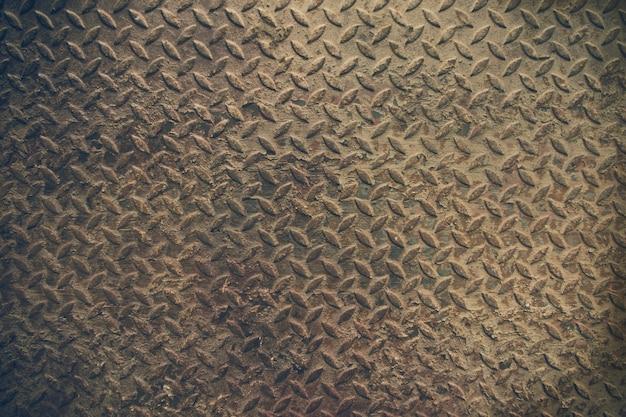 Texture de vieux fond en acier métallique