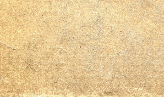 Texture vieux fond de papier jaune