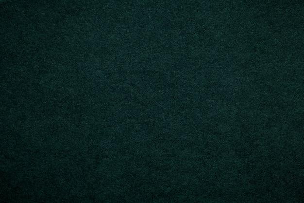 Texture de vieux fond de papier vert foncé