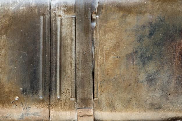 Texture de vieux métal brossé rouillé