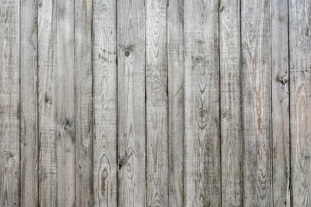 La texture d'un vieux motif de clôture en bois patiné et fond de bois naturel