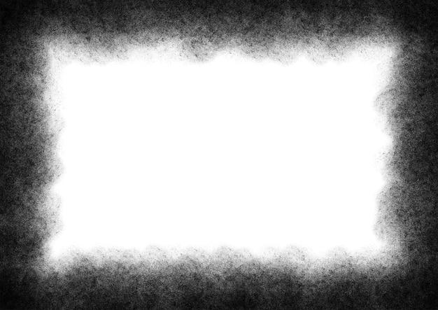Texture de vignette granuleuse grunge