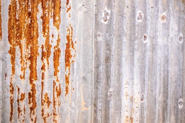 Texture de zinc, fond de zinc, fond de papier peint de rouille de zinc pour les matériaux de conception
