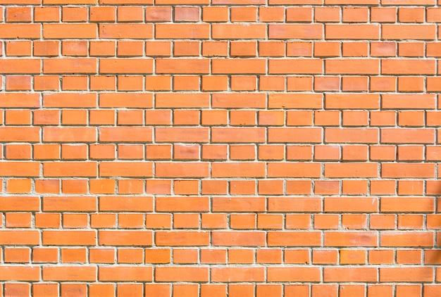 Textures d'une brique. mur de briques rouges. contexte