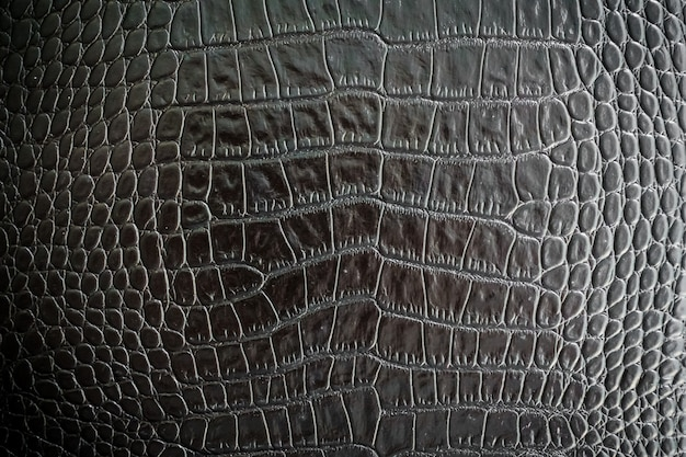 Textures de cuir noir