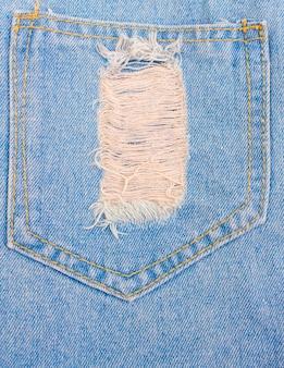 Textures déchirés fond de jeans