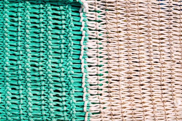 Textures de filet de pêche de la méditerranée