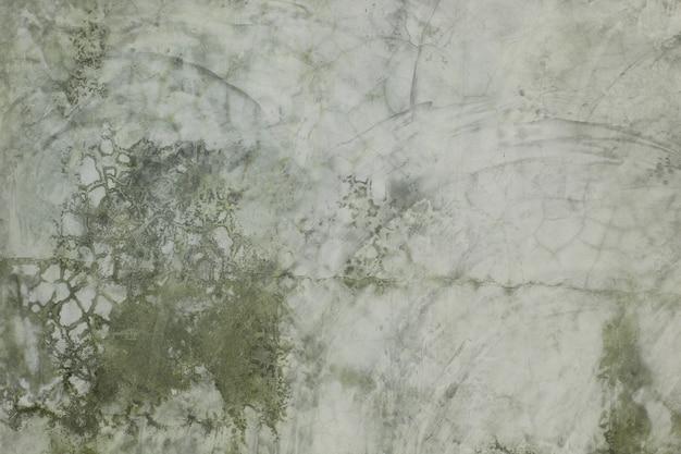 Textures et plâtre à motifs sur le mur.