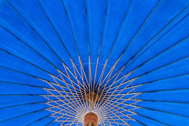 Textures surface modèle design doux colorfuf et belle de grand parapluie.