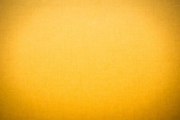 Textures de toile jaunes
