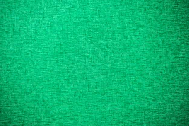 Textures de toile verte et surface pour le fond
