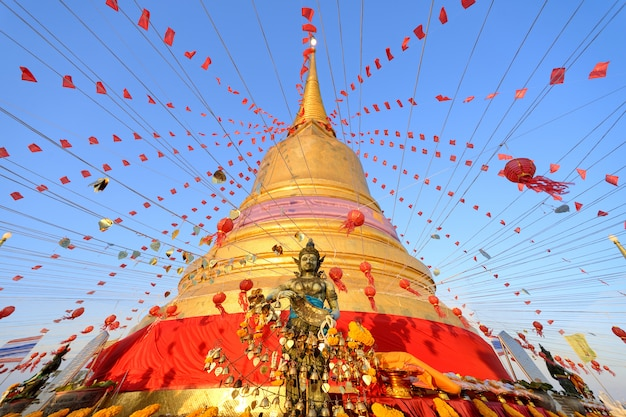 Thaïlande de montagne d'or