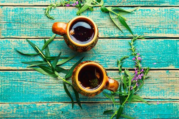 Thé aromatique à l'épilobe